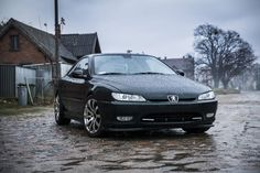 Rainy day  and 406 Coupe by Urwał