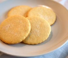 No-Sugar Sugar Cookies Try these sweet diabetic sugar cookies without the guilt of blood sugar control. Calories 60 Total Fat 3g Total Carbohydrate 7g Protein 1g
