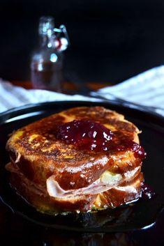 Cranberry monte cristo sandwich