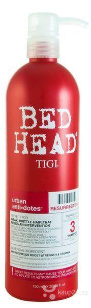 Taastav šampoon Tigi Bed Head Urban Antidotes Resurrection 750 ml hind ja info | Šampoonid | kaup24.ee