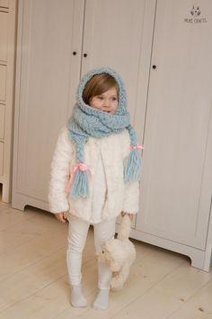 Hooded scarf Anna | Craftsy