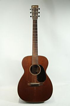 MARTIN OO-55 (1934) : all mahogany, ordered by Rudick's (guitar shop) in Ohio