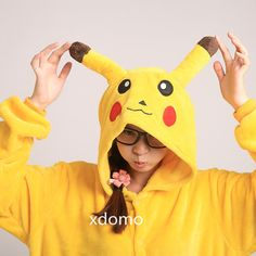 Hey, I found this really awesome Etsy listing at https://www.etsy.com/listing/169457084/pokemon-kigurumi-pikachu-onepiece