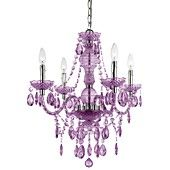 Elements Chandelier, 4-Light Mini in Purple, I love this! its so Pretty on sale at Macys 119.99