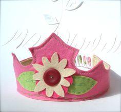 Felt Tiara Sweet Princess por ChoochMagooz en Etsy
