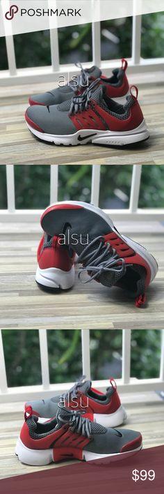 pretty nice 039a3 01946 NWT Nike Presto (GS) Cool Grey Red WMNS. Fashion TipsFashion ...