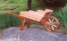 This rustic looking wheelbarrow planter is a great addition to your garden. The free plans will have you adding this decorative piece with your plants this summer. There are two sets of plans for this wheelbarrow planter, a beginner set and a more advanced one. The very detailed PDF plans...