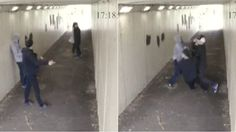 Two guys pick on a girl walking in a tunnel with her boyfriend. Only this time, the boyfriend is actually a boxer who avenges his girl by knocking the two guys out.