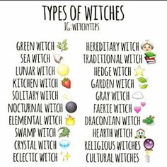 green witchcraft Which one are you? ~ I am kind of a little of everything, but mostly a green and elemental witch ~ From: Witchytips Witch Spell Book, Witchcraft Spell Books, Green Witchcraft, Wiccan Witch, White Witch Spells, Types Of Witchcraft, Wicca Witchcraft, Witch Rituals, Wiccan Art