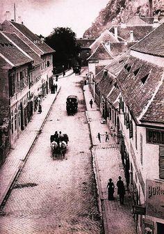 Döbrentei utca, 1890 körül.