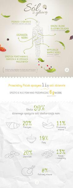Too much salt causes health damage | Sól z głową - za nadmiar soli w diecie zapłacisz zdrowiem #salt #health #econdimenta
