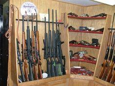 gun safe room layout