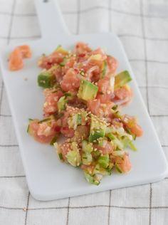Der gesündeste Salat der Welt - Avocado-Lachs-Salat