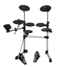 Medeli DD402 Electronic Drum Set by Medeli. $359.87. The Medeli DD402 Electronic Drum Set Features 4 Drum Pads, 3 Cymbal Pads a Hi-Hat Pedal and a Bass Drum Trigger. There are 108 Voices, 10 Drum Kits, 40 Patterns and a Demo Song.. Save 40%!