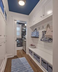 Mudroom/Half Bath Layout