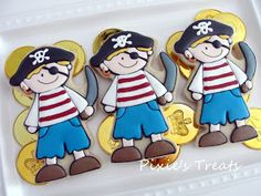 Pirate Cookies from Pixie's Treats