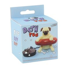 Buy Paladone Bath Pug Plug | John Lewis - £7.50