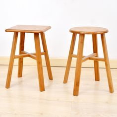High quality bamboo wooden bench stool fashion creative household wooden stool wooden stool