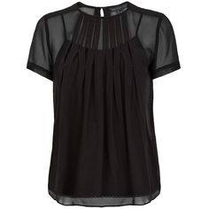 Marc by Marc Jacobs Marquee Pintucked Blouse found on Polyvore featuring tops, blouses, blusas, shirts, pintuck top, cocktail blouses, keyhole top, evening tops and marc by marc jacobs blouse