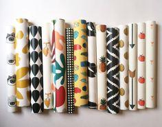 Removable Wallpaper // Sample sheets // by KateZarembaCompany