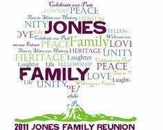 The Family Reunion Planners Blog: How to Design Family Reunion T ...