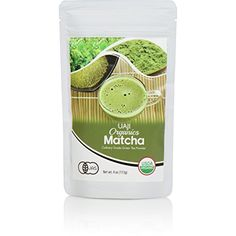 Certified Organic Green Tea Matcha Powder From Japan Organic Matcha, Organic Green Tea, Green Tea For Weight Loss, Matcha Green Tea Powder, Superfood, Fat Burning, Packaging Design, Image Link, Notes