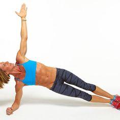 Day 2 Plank Challenge: Forearm Side Plank - Fitnessmagazine.com