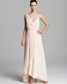 Pink Chiffon Evening Dress by Jill Stuart. Buy for $428 from Bloomingdale's