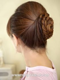 Formal What do you like about this updo? #allaboutupdos #hairtutorials When would you wear this best?