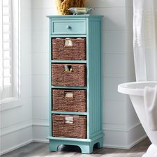 Holtom Tall Cabinet - Antique Sky Blue