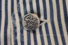vintage workwear: MADE IN CALIFORNIA, CAN'T BUST 'EM, DENIM BRUIN