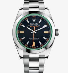 This will be my next watch.  Rolex Milgauss GV Green Crystal Watch.