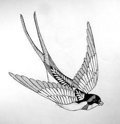 The Krumble Empire: Swallow Tattoo. Barn Swallow Tattoo, Swallow Tattoo Design, Swallow Bird Tattoos, Bird Tattoo Men, Nature Tattoo Sleeve, Nature Tattoos, Sleeve Tattoos, Navy Tattoos, Tattoos For Guys