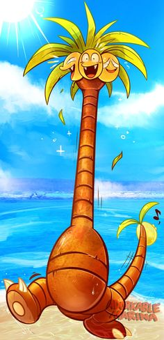 ALOLA form Exeggutor by AdorkableMarina on DeviantArt