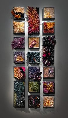 Glass sculpture by Shayana Leib