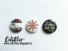 """badge 1 """"flat back for projects creative, scrapbooking, cards, etc. Badges, Scrapbook, Creative, Projects, Cards, Etsy, Collection, Family Christmas, Noel"""