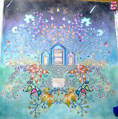 Inspiracao Coloringbooks Livrosdecolorir Jardimsecreto Secretgarden Florestaencantada Enchantedforest Reinoanimal