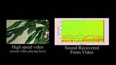The Visual Microphone: Passive Recovery of Sound from Video by: Abe Davis Michael Rubinstein Neal Wadhwa Gautham J. High Speed Camera, The Future Is Now, Sound Proofing, Video Footage, Mind Blown, Science And Technology, Recovery, Videos, Potato Chips