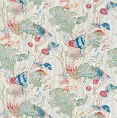 Cowtan & Tout's Maralago #cowtanandtout #textiles #fabrics #nautical