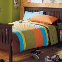 Land of Nod bedding for D