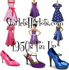 """Pin Up Clothing"" by starlets-harlots on Polyvore"