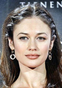 Olga Kurylenko, i like those braids. super pretty