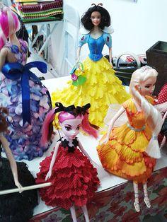 pap bonecas vestido eva