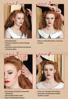 50 Jahre Frisuren | Die 178 Besten Bilder Von Frisuren 50er Jahre Hair Ideas Vintage