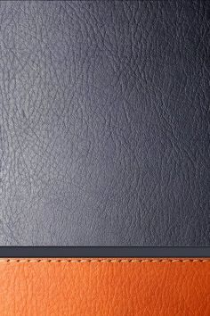 Gray and Orange Leather iPhone 4S wallpaper