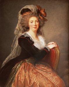 Madame de Couteulx de Molay wearing a robe a la turque,1788 Vigee Le Brun