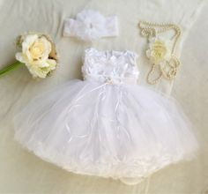 White Siky Satin Tulle Baby Girl Dress, Baptism Special Ocassion First Birthday Dress, Baby Boudoir Photoshoot, Fancy Frilly Girly Tulle