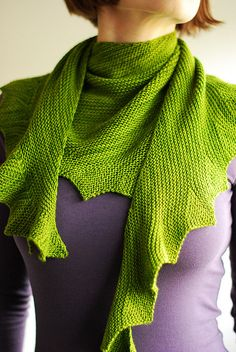Lintilla iteration by IgnorantBliss, via Flickr ... one of a series of four shawls, including Hitchhiker, original shawl pattern, Lintilla by Martina Behm can be found on Ravelry