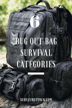 There are essentially six basic survival categories to focus on when deciding what to put in your bug out bag. Always remember when preparing for an emergency redundancy is important. One is none and two is one! Click to read more. #bugoutbag #bugout #prepper #shtf #prepping